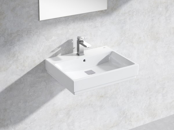 eurocube wall-hung basin 60 3D model
