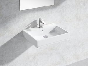 eurocube wall-hung basin 60 3D model