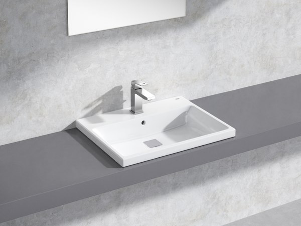 eurocube built-in basin 60 3D