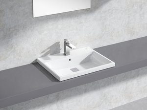 eurocube built-in basin 60 3D