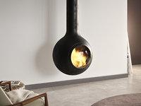 3D model bathyscafocus suspended fireplace focus