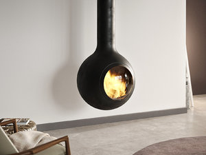 3D model bathyscafocus suspended fireplace focus