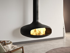 domofocus fireplace focus 3D model