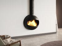 emifocus open dv fireplace 3D model