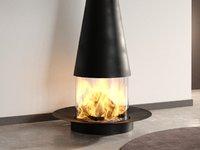 filiofocus central fireplace focus model