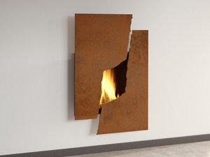 3D metafocus 6 fireplace focus