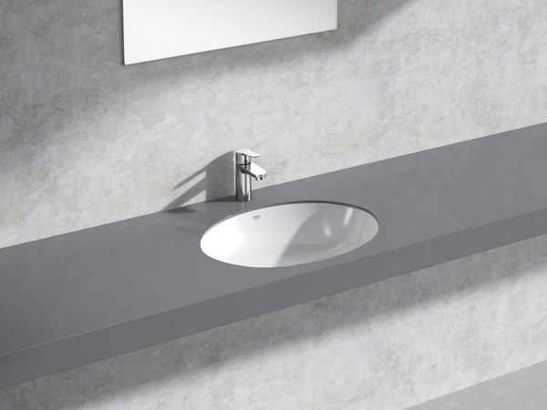bau counter basin 55 3D model