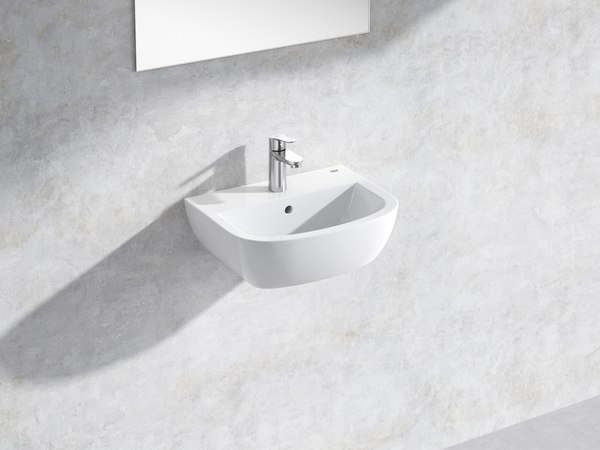 bau wall-hung basin 45 3D model