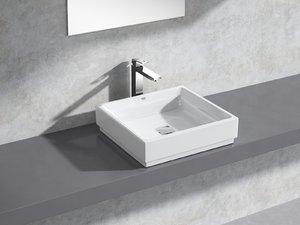 cube countertop vessel 50 3D model