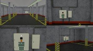 3D parking garage