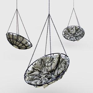 r suspended swing 3D model