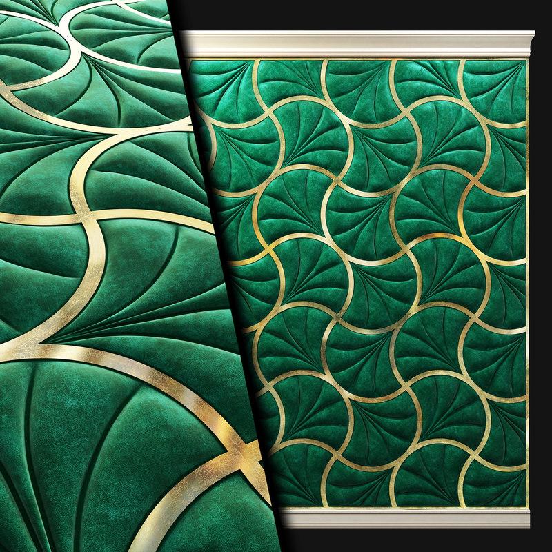 3D wall panel soft