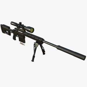 sniper rifle vs-8 3D model