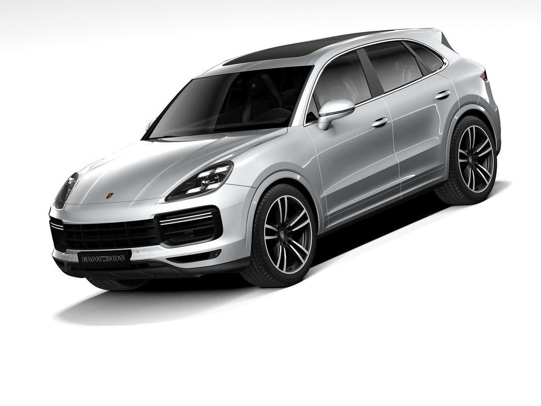 3d Porsche Cayenne Turbo 2020 Model Turbosquid 1389660