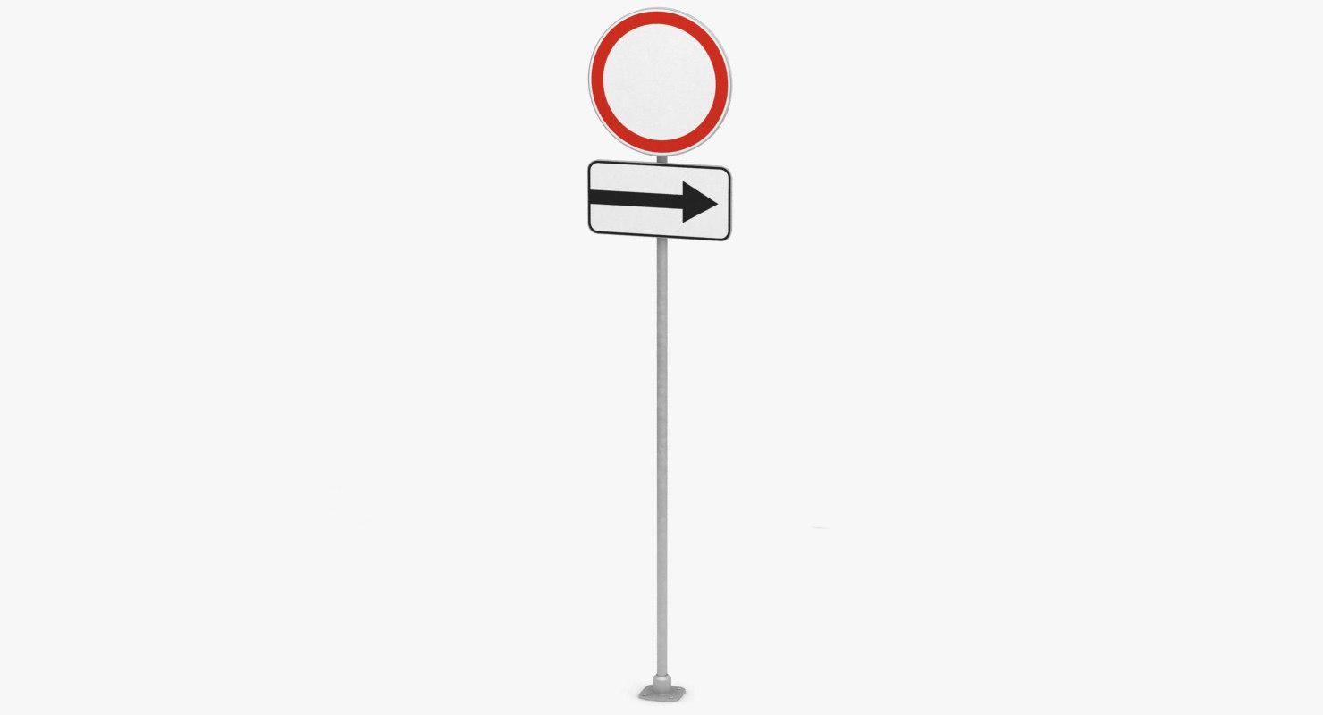 traffic sign 2 model