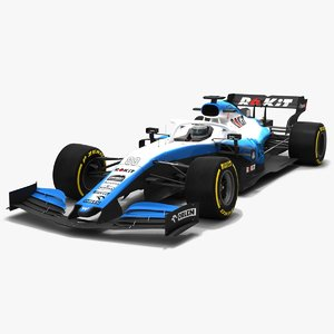 rokit williams f1 fw42 3D