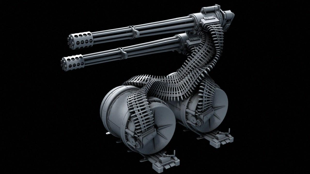 3D gau - 8 avenger