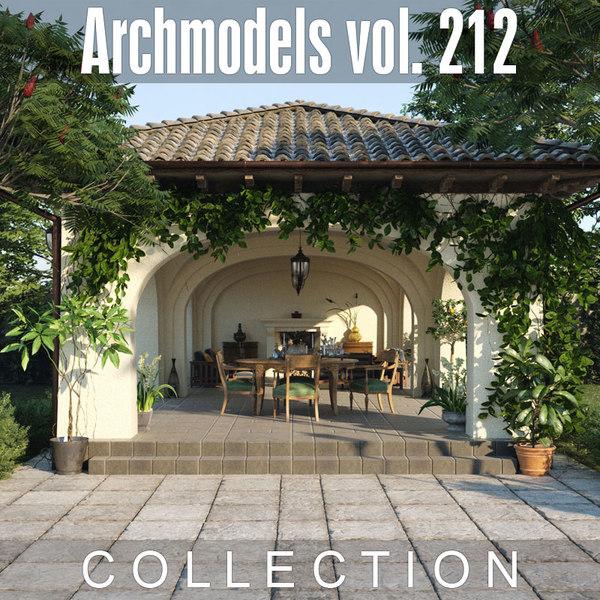3D archmodels vol 212