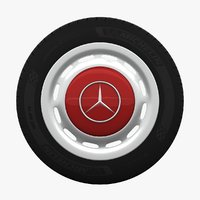 Mercedes-Benz 280 SL Wheel