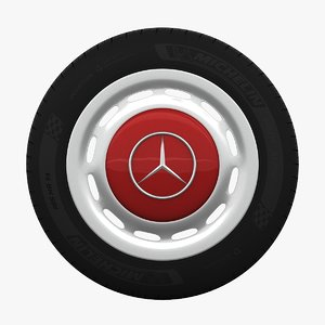 3D mercedes-benz 280 sl wheel model
