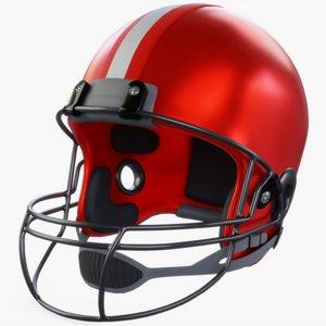 american football helmet 3D
