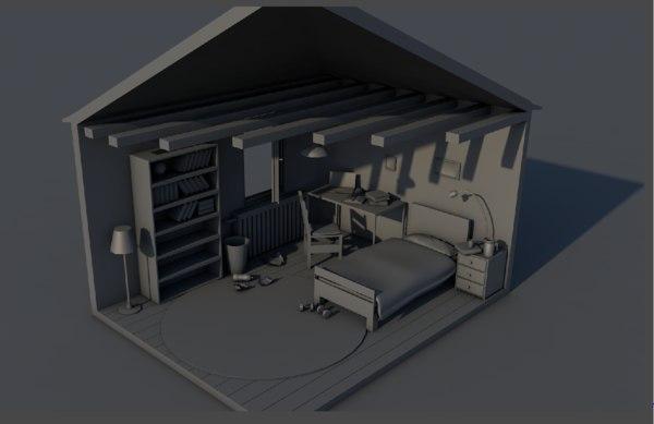 room concept set model
