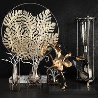 decorative set 40 3D model