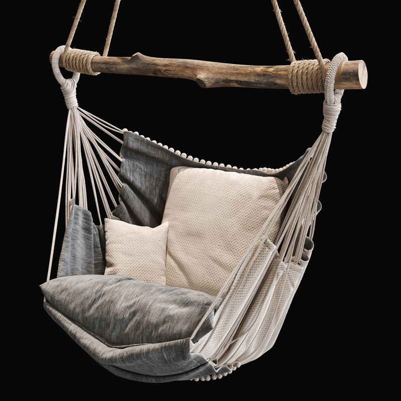chair hanging 3D model