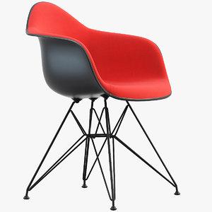 3D eames plastic armchair