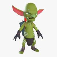 goblin miner 3D model