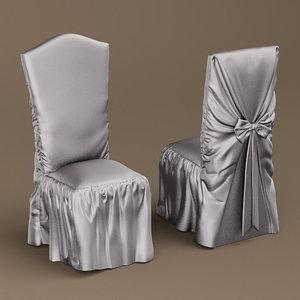 turri wedding chairs 3D model