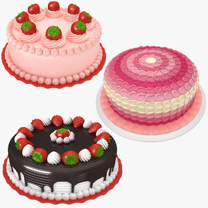 3D cake 4