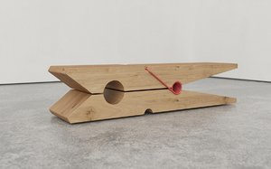 bench design banc 3D