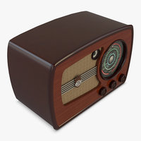 3D model vef super m557 radio