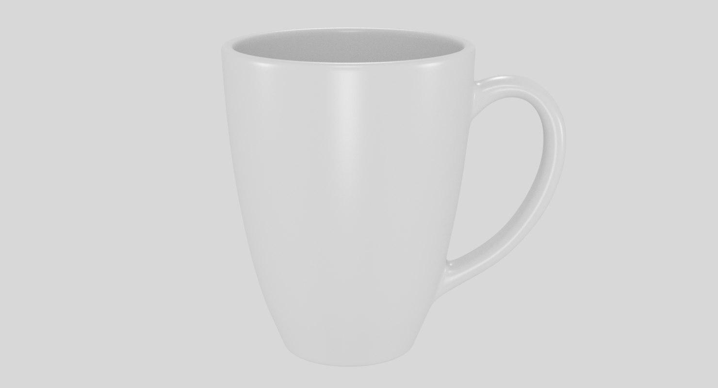 coffee mug 3D
