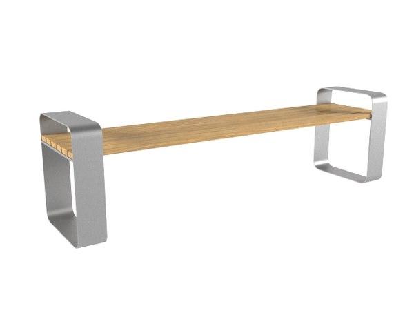 3D model park bench