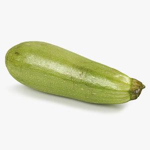 3D zucchini 01
