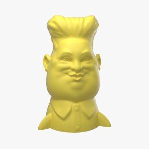 3D kim jong