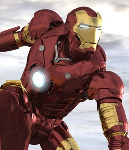 ironman comics 3D model