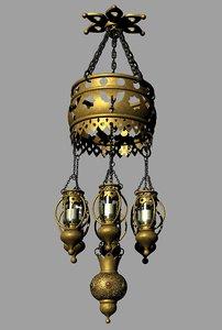 1001 nights lantern 4 3D model