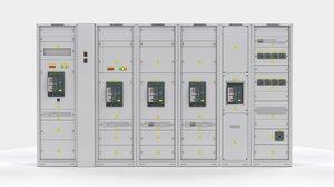 3D switching cabinets server automation