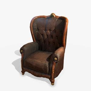 armchair pbr model
