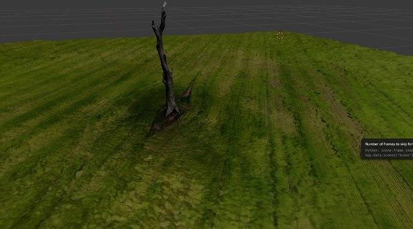 tree dead field model