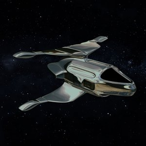 3D spaceship space model