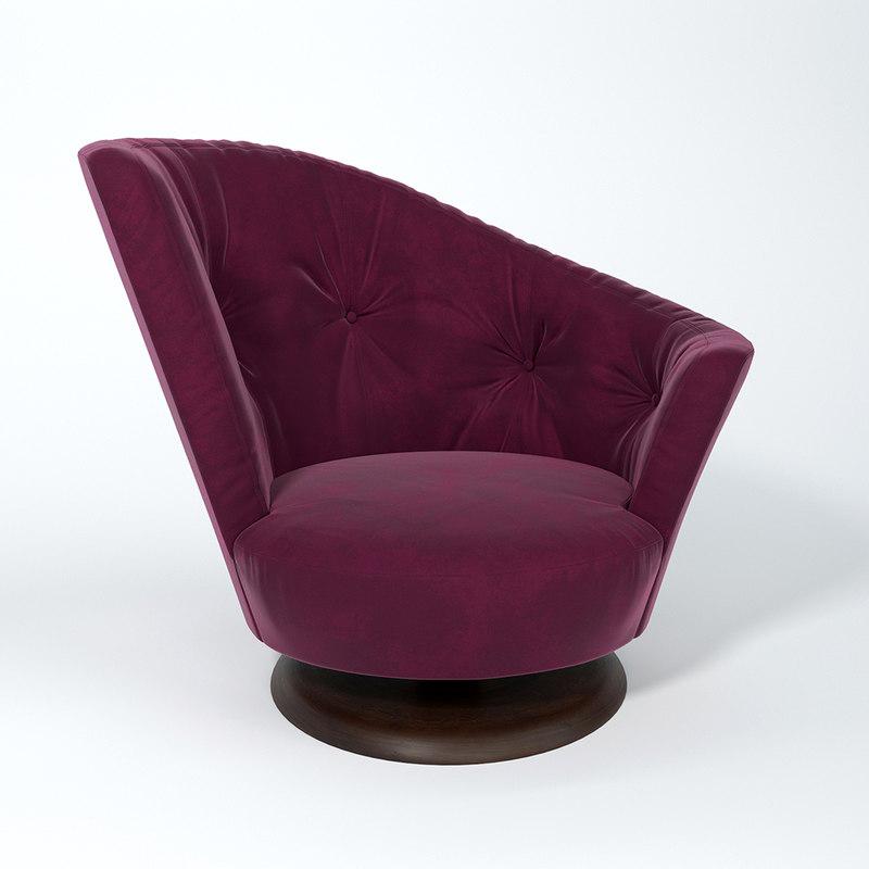 3D chair arabella giorgetti