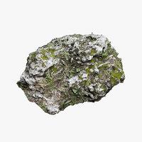 3D mossy rock