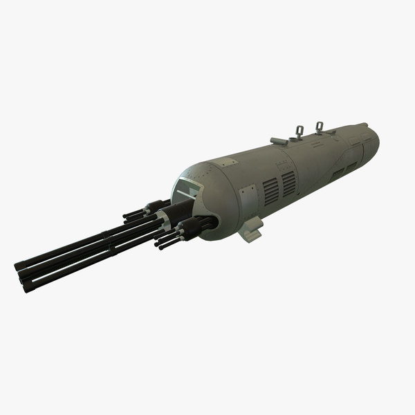 3D gun pod guv-8700 guv
