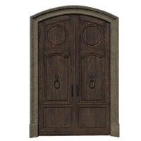 3D door classic entrance