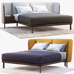 dubois bed 2 options 3D