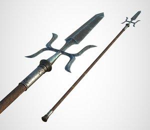 joseon spear 3D
